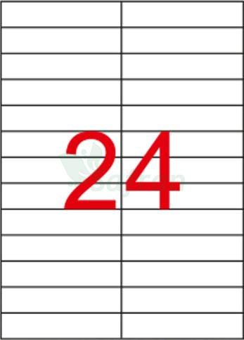 RENKLİ  LAZER ETİKET   105 X 23