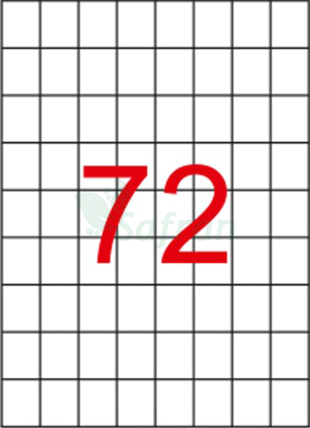 RENKLİ LAZER ETİKET 26.25 X 32.98