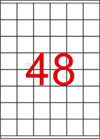 RENKLİ LAZER ETİKET 35 X 37.11