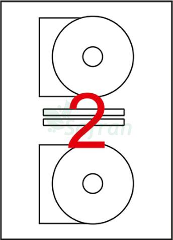 ŞEFFAF LAZER ETİKET 116 X 41