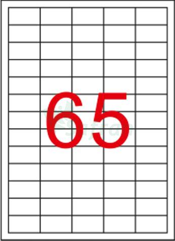 ŞEFFAF LAZER ETİKET 38.1 X 21.2