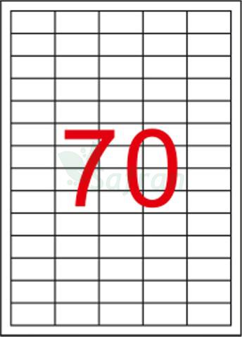 ŞEFFAF LAZER ETİKET 40 X 20