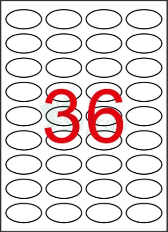 ŞEFFAF LAZER ETİKET 40.5 X 25.4