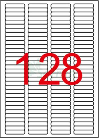 ŞEFFAF LAZER ETİKET 43.2 X 8.5