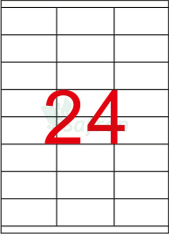 ŞEFFAF LAZER ETİKET 70 X 35