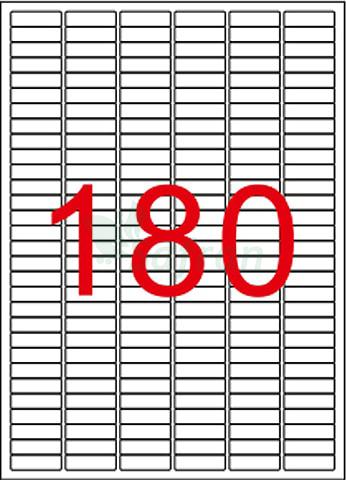 TANEX  LAZER ETİKET   30 X 9