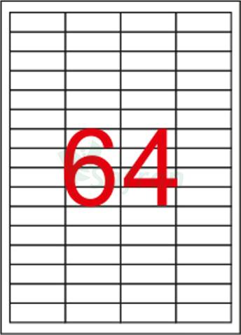 TANEX LAZER ETİKET 48.5 X 16.9