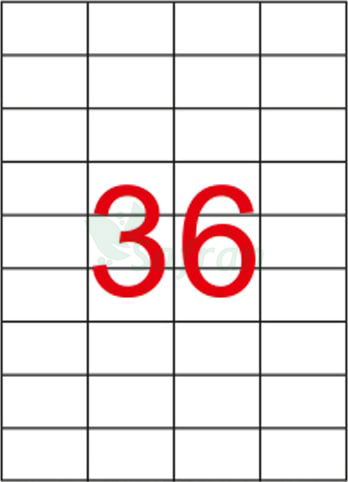 TANEX LAZER ETİKET 52.5 X 33